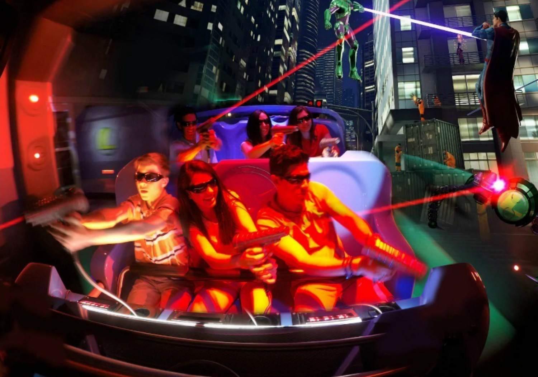 Best Theme Park Rides for Little Kids 2017
