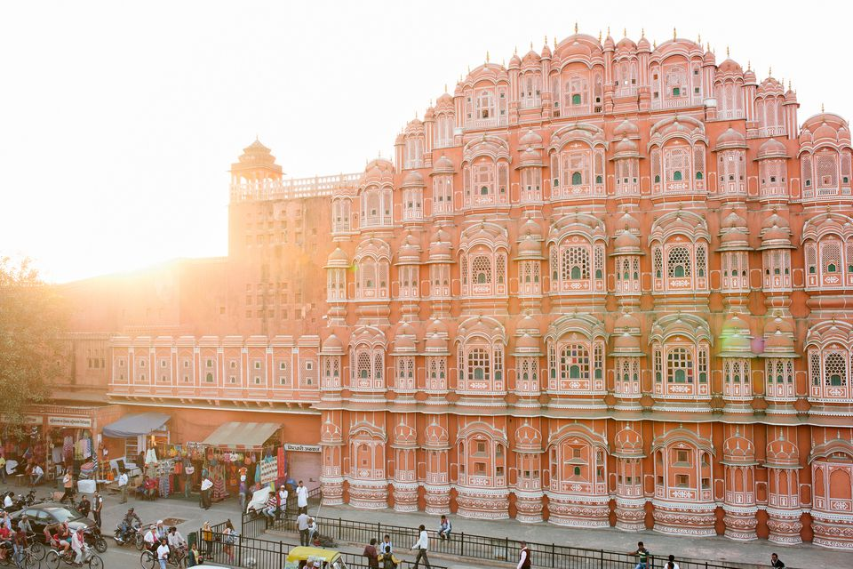 Hawa Mahal or palace of the winds, Jaipur India.