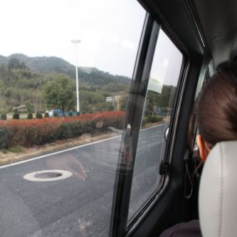 Driving to Huangshan from Shanghai