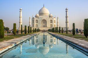 Taj Mahal, Agra city, India