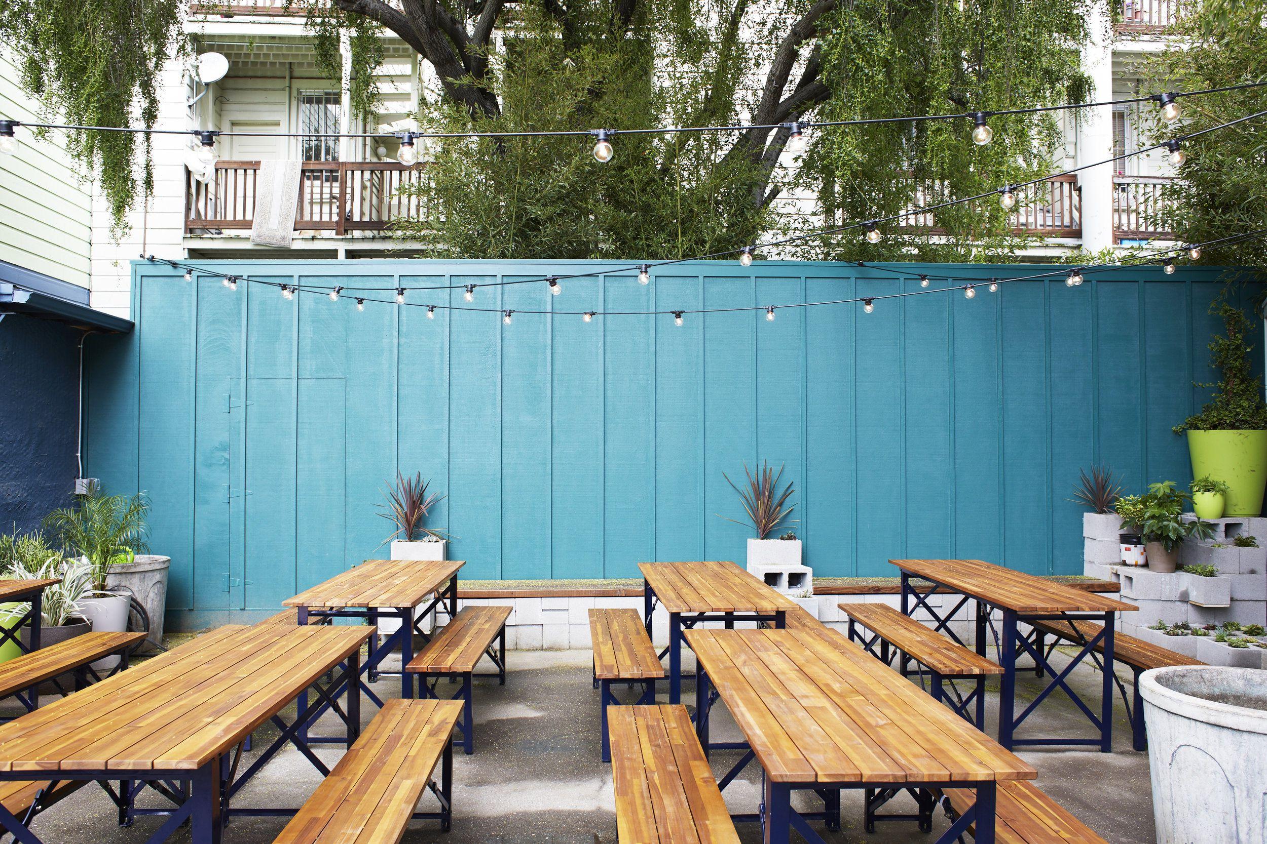 Anina outdoor seating