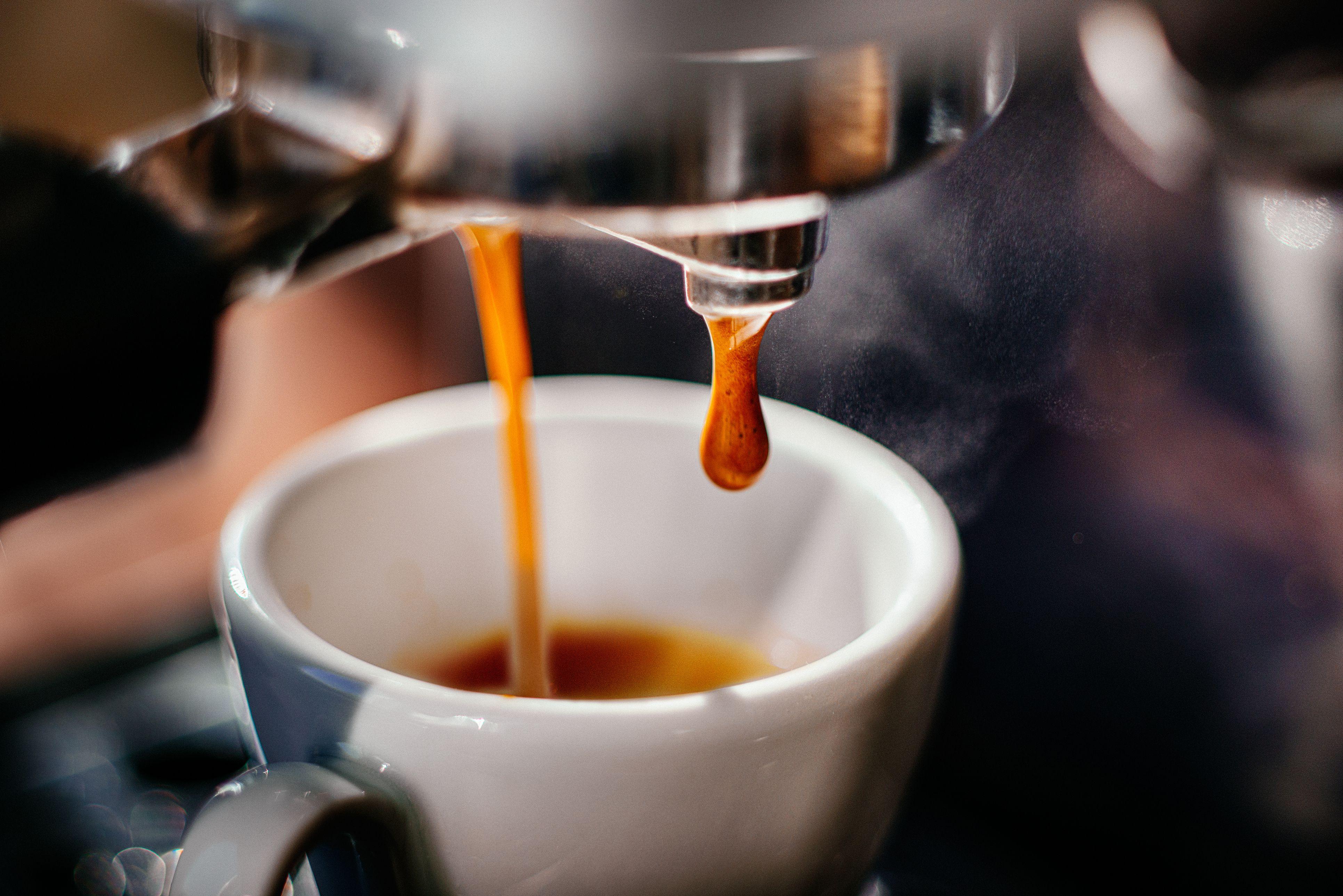 Налитый кофе картинки