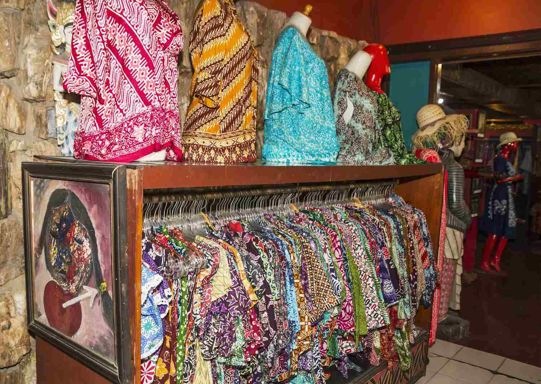 Batik in Malioboro, Indonesia