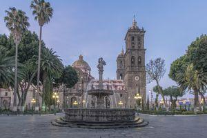 Puebla's Zócalo