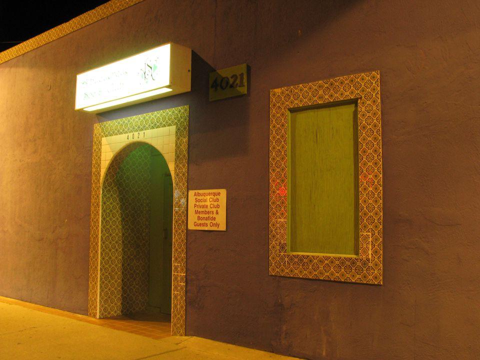 Albuquerque Social Club, Albuquerque, New Mexico