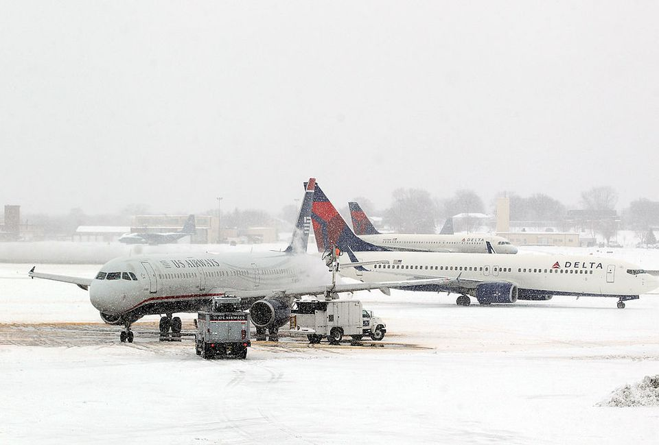 Planes in the Snow