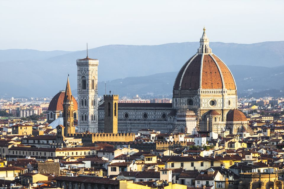 City panorama view of Florence, Italy
