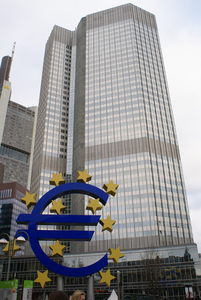 downtown Frankfurt