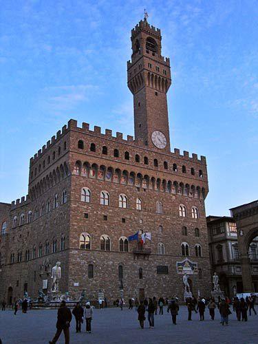 florence picture, palazzo vecchio, florence