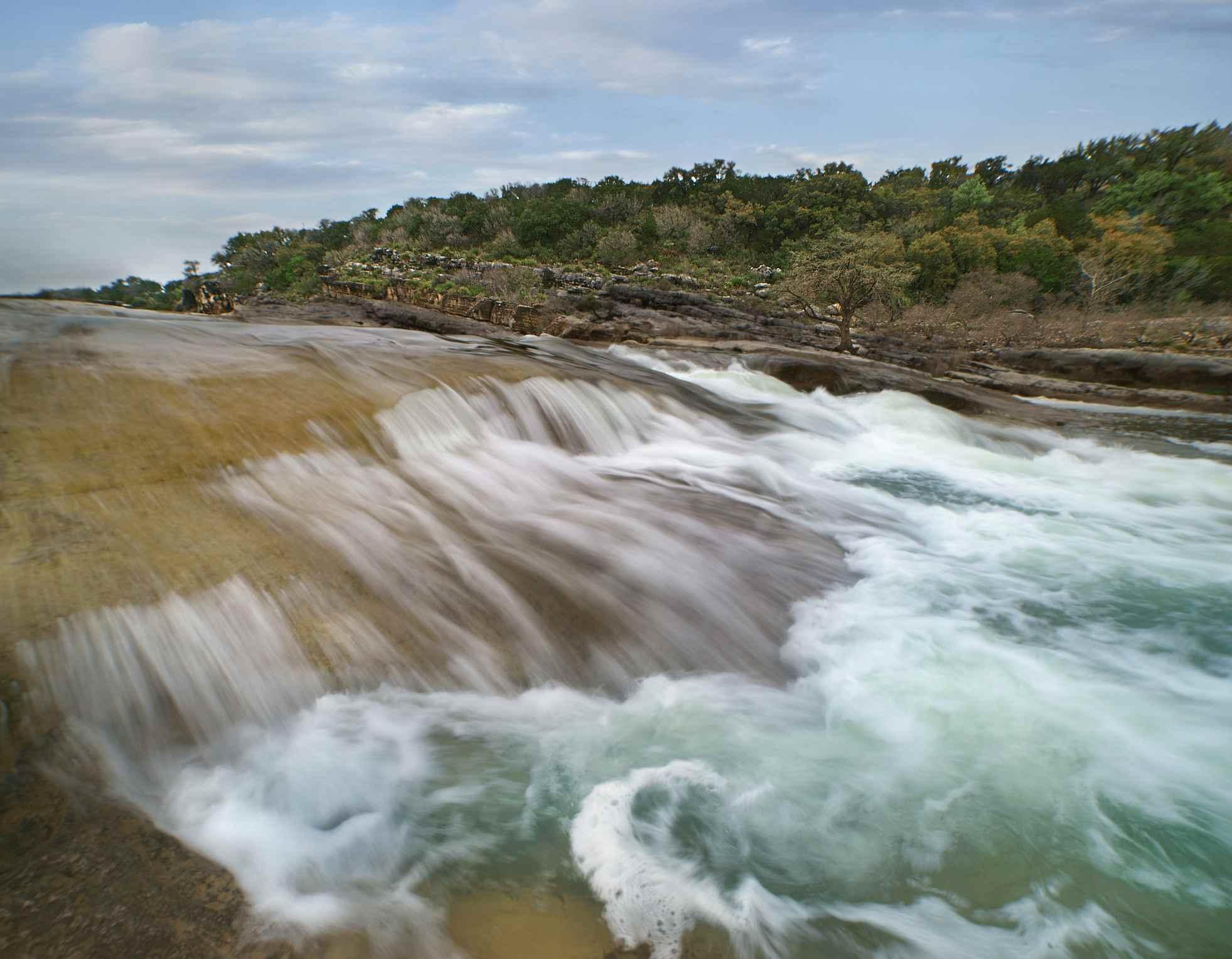 Cataratas de Pedernales, Pedernales Falls State Park, Texas, EE. UU.