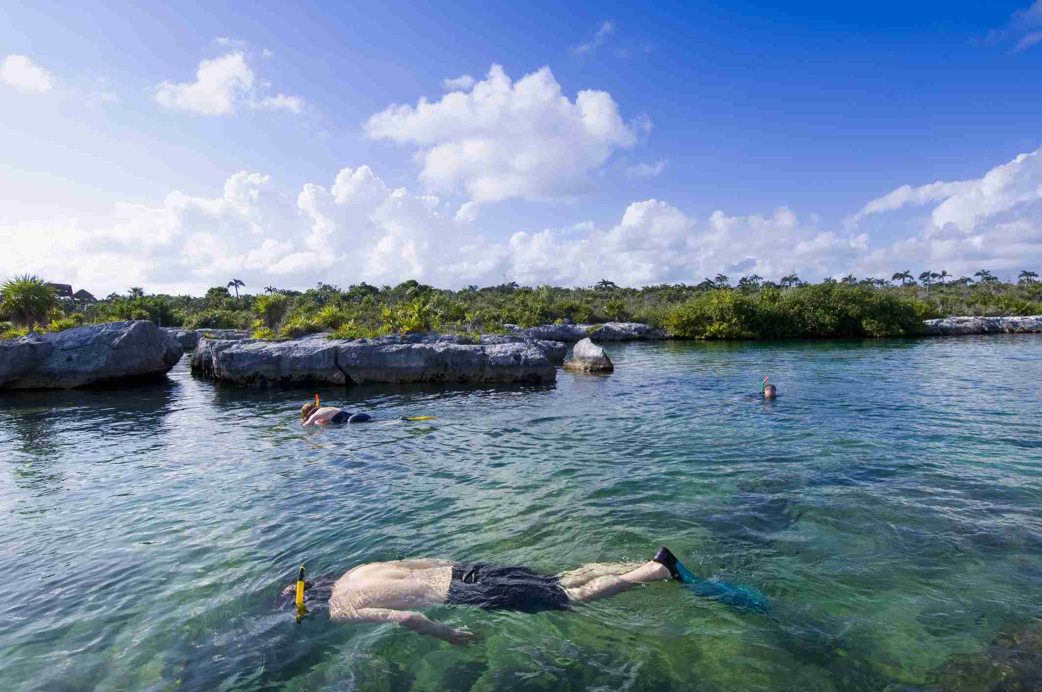 Yal-ku Lagoon, Akumal, Quintana Roo, Mexico