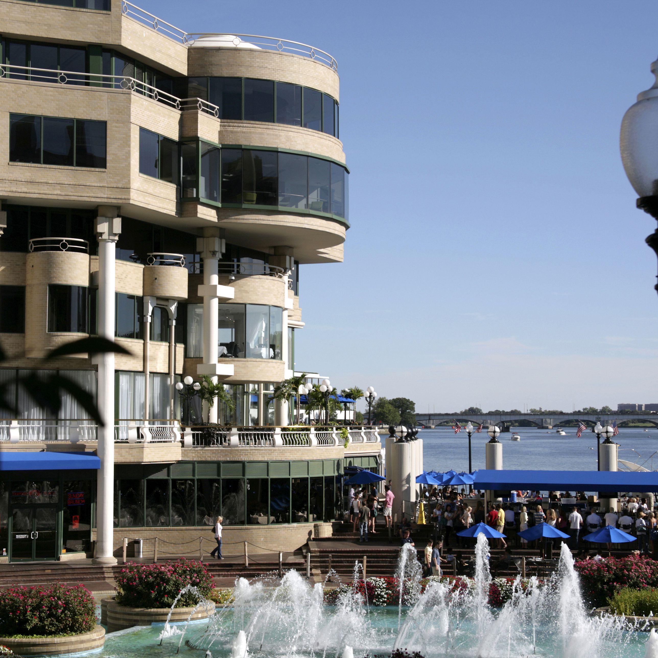Georgetown Waterfront Restaurants Washington Harbor
