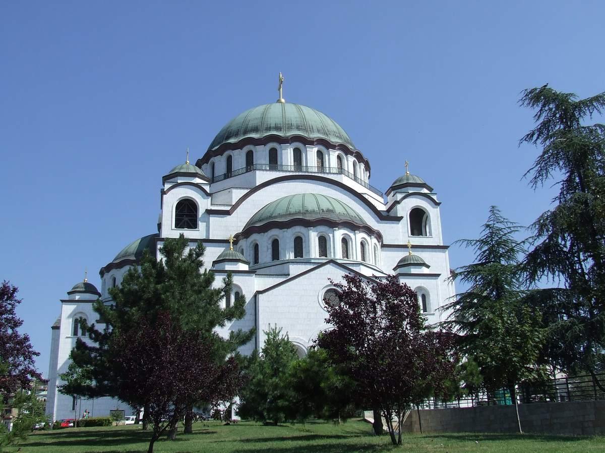 Saint Sava Cathedral in Belgrade, Serbia