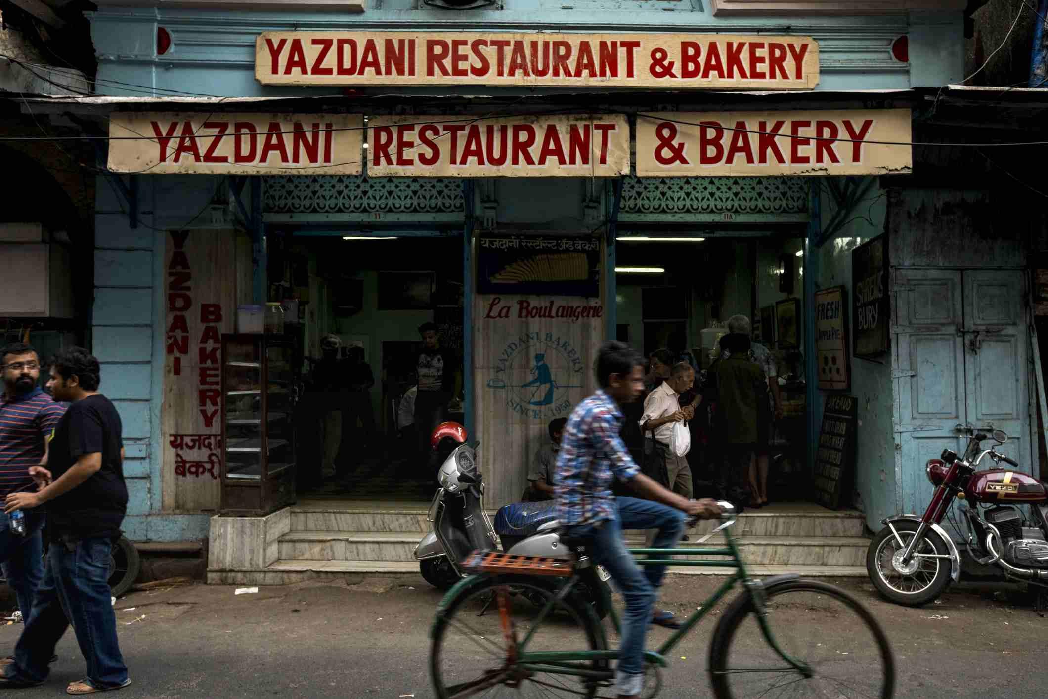 Yazdani Bakery, Fort, Mumbai.