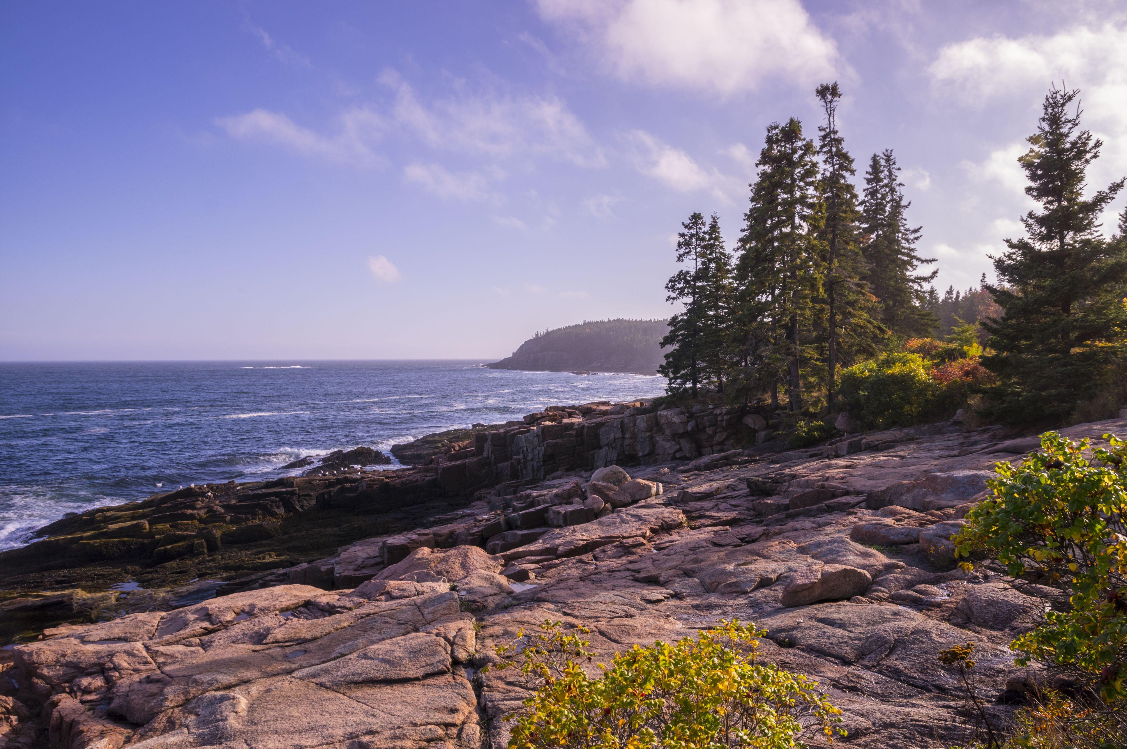 Parque nacional Acadia Loop Road View