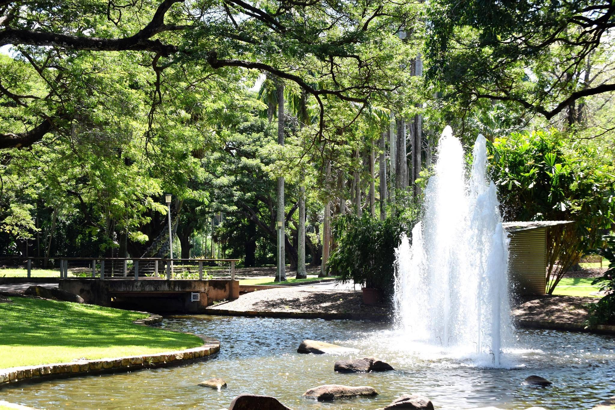 Jardines botánicos de Darwin