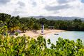 A secluded beach in Ocho RIos