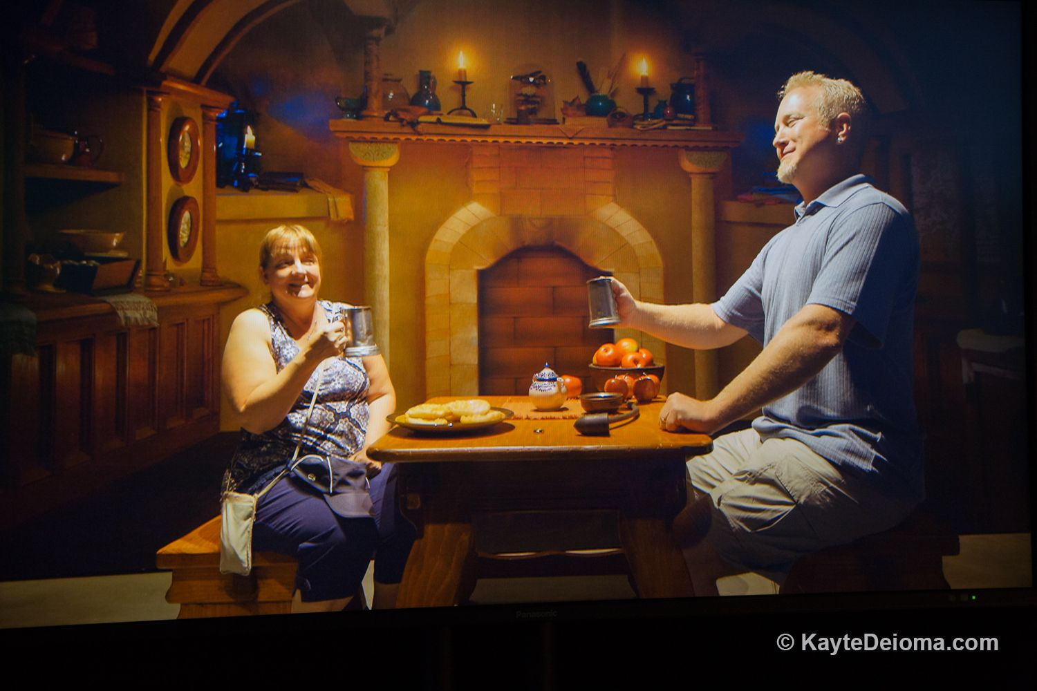 Forced perspective set in Stage 48 on the Warner Bros. Studio Tour