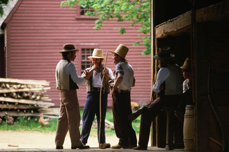 Villagers in Old Sturbridge Village