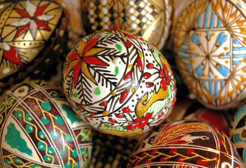 Easter in serbia traditions and rituals easter eggs from bucovina m4hsunfo