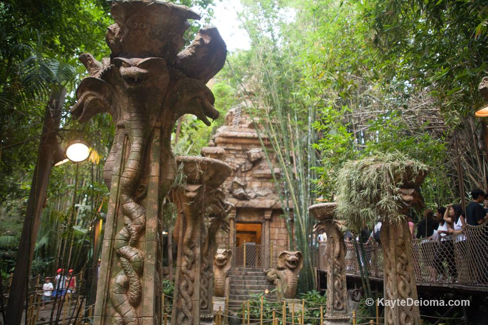 The Indiana Jones Ride at Disneyland California