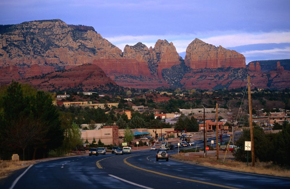 Sedona, Arizona, view from the road