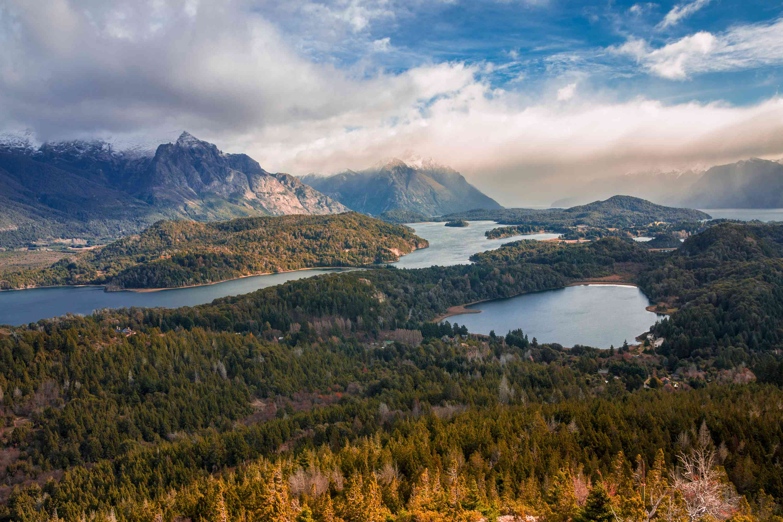 Lake View from Cerro Campanario, Bariloche