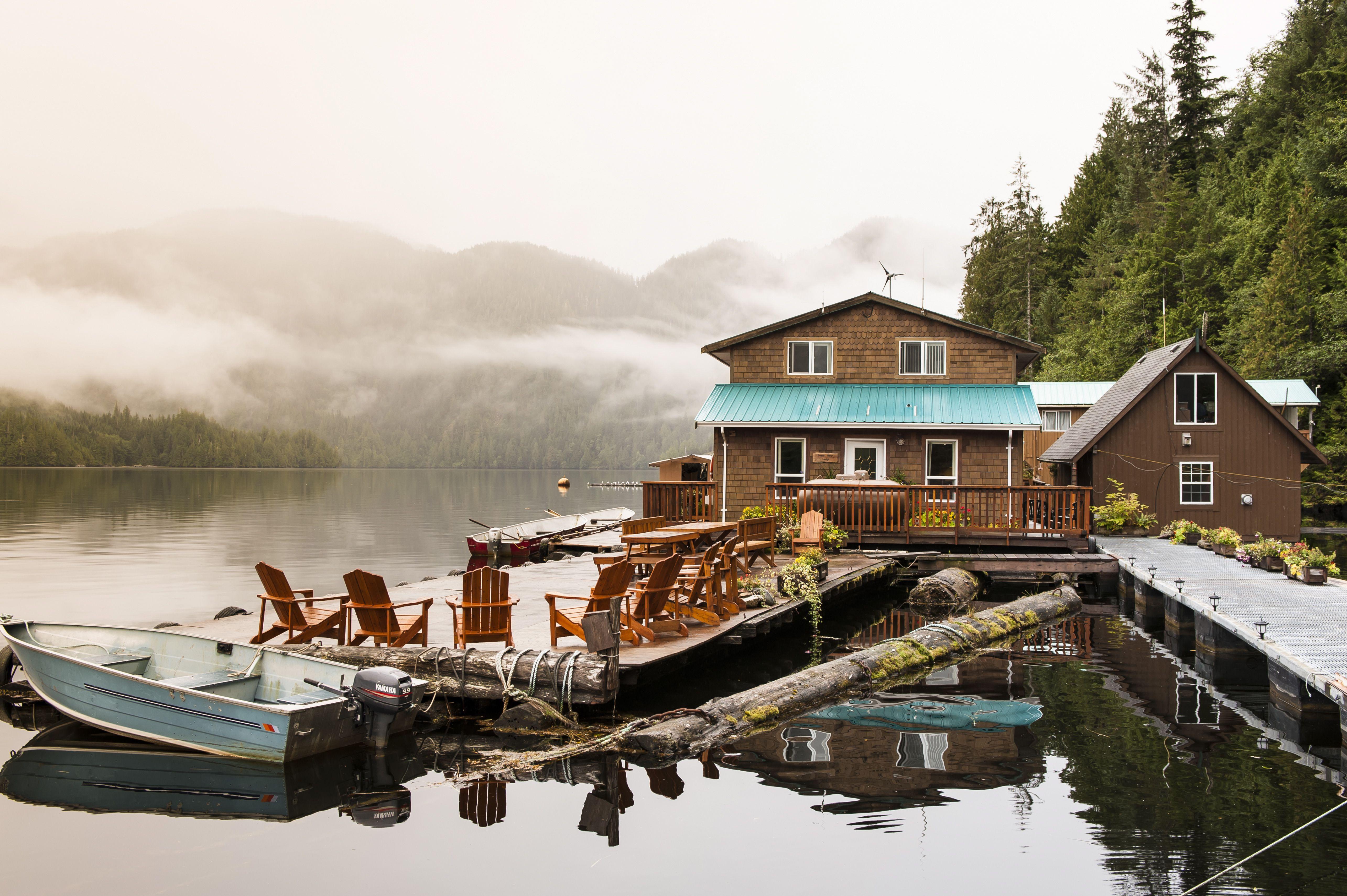 Great Bear Lodge, Great Bear Rainforest, British Columbia, Canada, North America