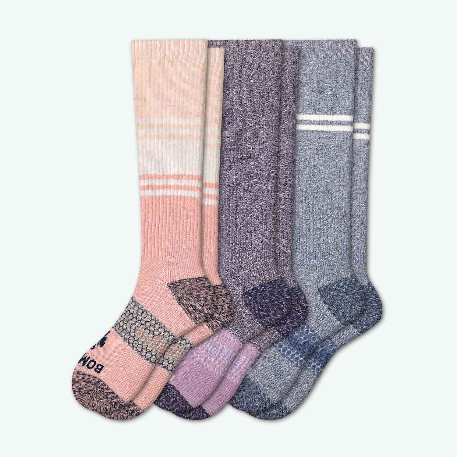 Bombas Women's Strong Compression Sock 3- Pack