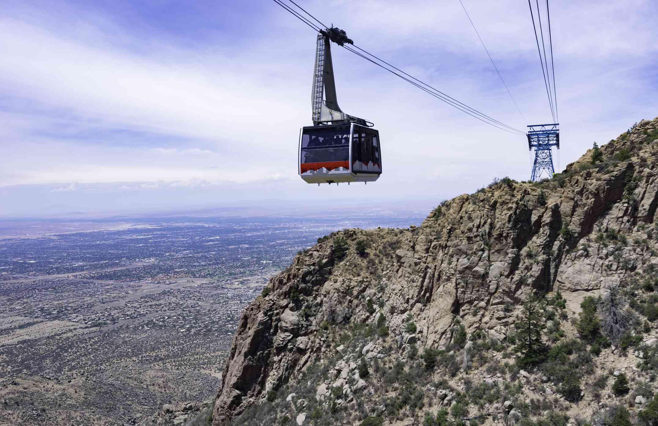 Sandia Peak Tramway - Cable Car