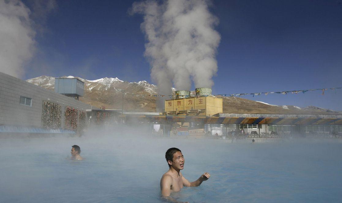 Yangpachen Hot Springs, Tibet