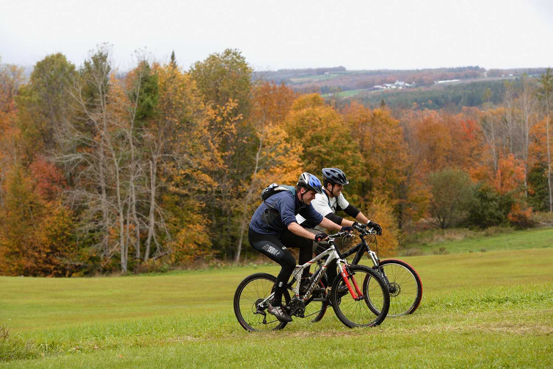 Ciclismo de montaña en Kingdom Trails