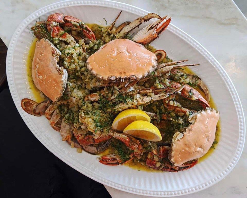 Port Lincoln Sand Crabs at Madalena's
