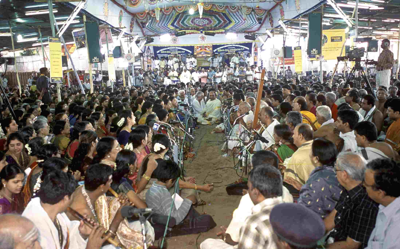Thyagaraja Aradhana festival at Thiruvaiyaru near Thanjavur