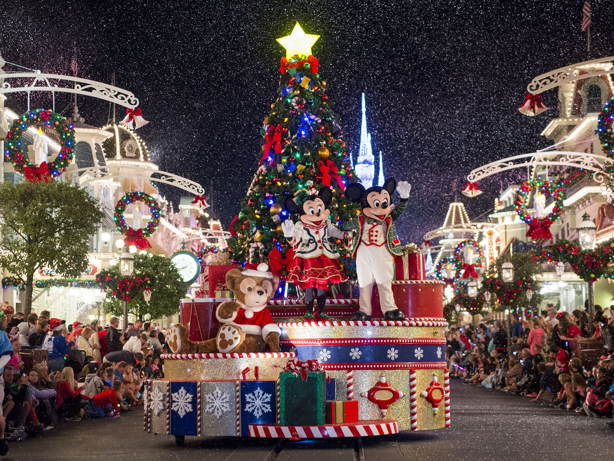 Image result for christmas at disney""