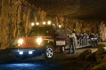 Historic Tram Tour of Mega Cavern