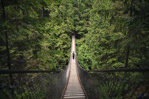 Lynn Canyon Suspension Bridge, North Vancouver