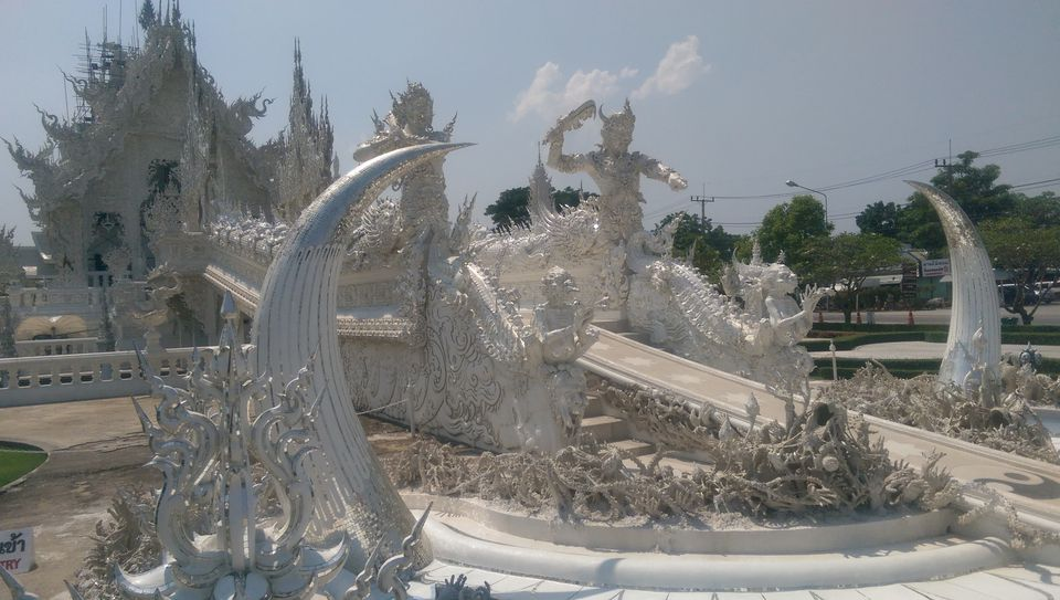 White Temple in Chiang Rai, Thailand