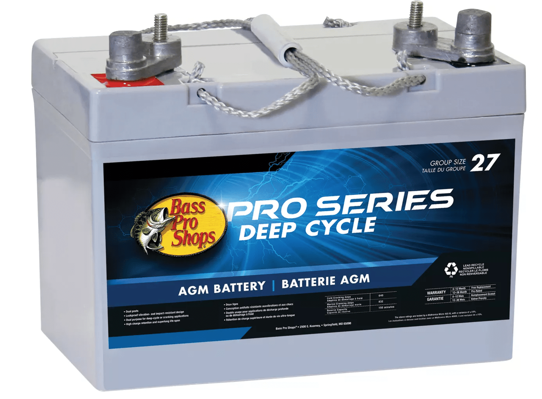 Batería marina de ciclo profundo Bass Pro Shops Pro Series