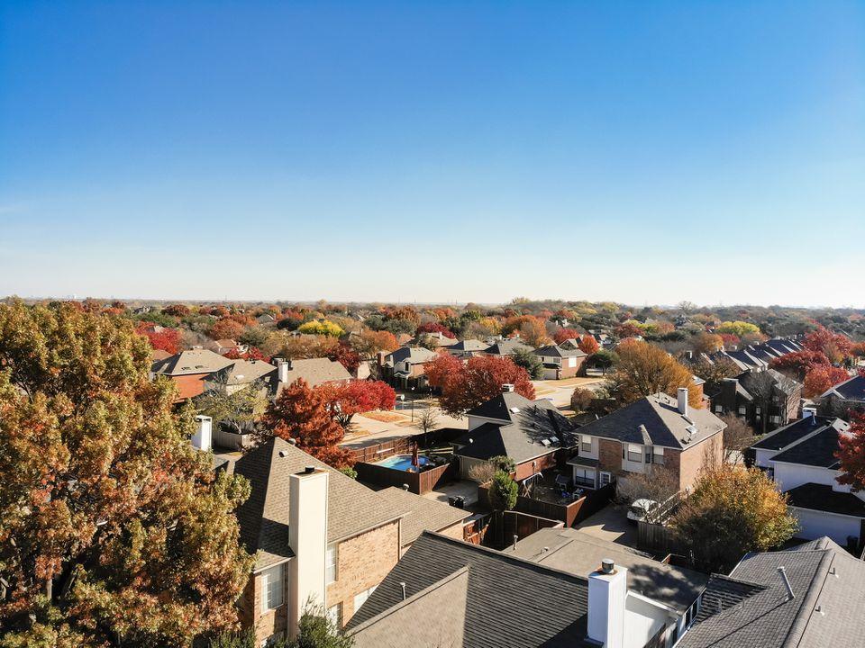 Dallas in the fall