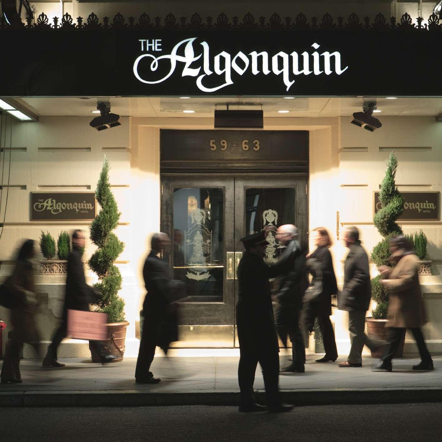 Hotel Algonquin. Ciudad de Nueva York, Nueva York, Estados Unidos, América del Norte