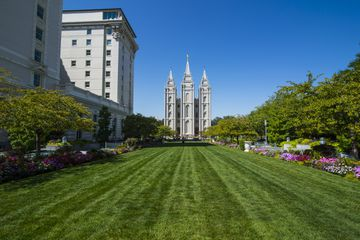 USA, Utah, Salt Lake City, Mormon Salt Lake City Temple