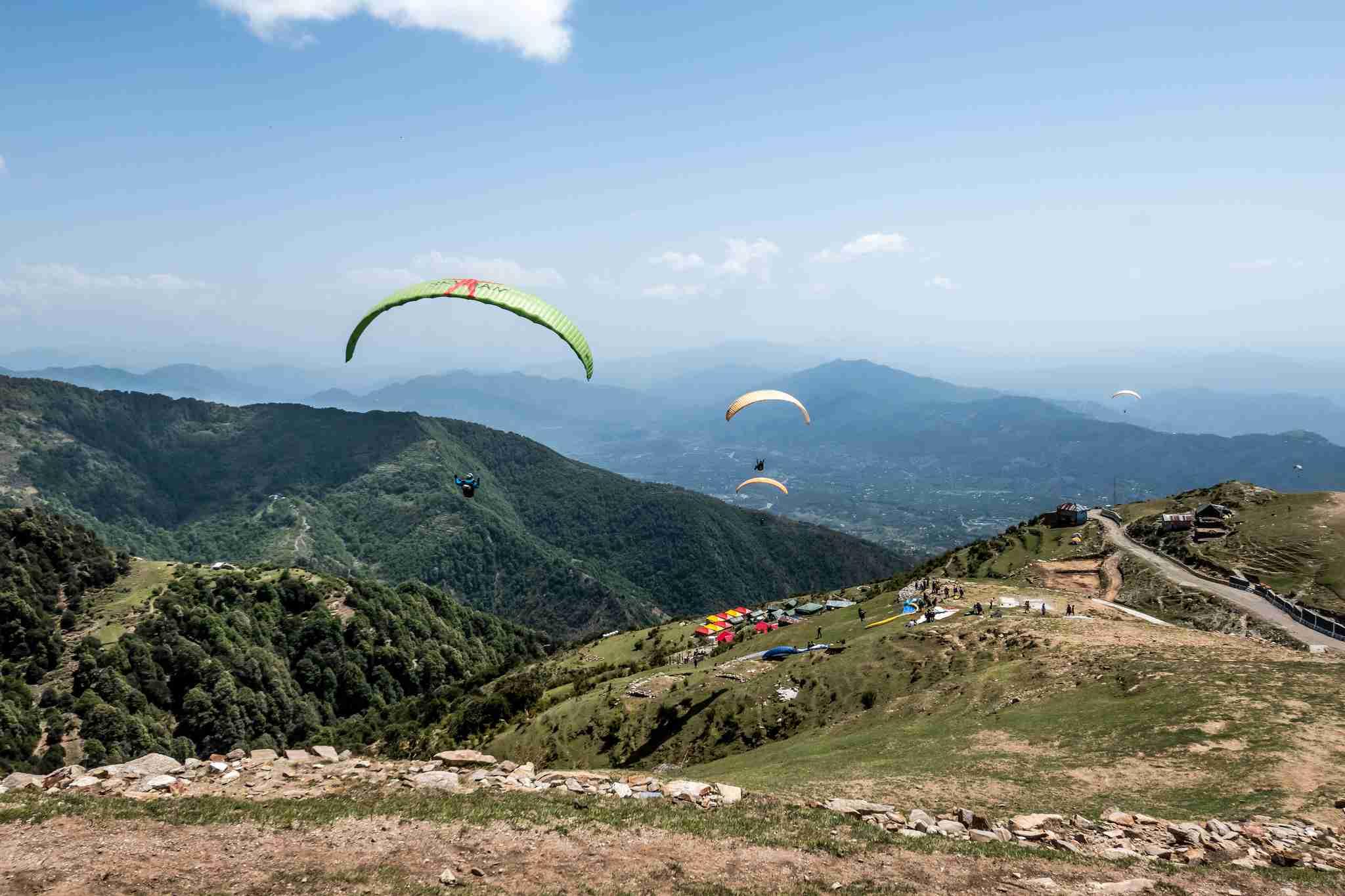 Bir Paragliding & Hiking 2017