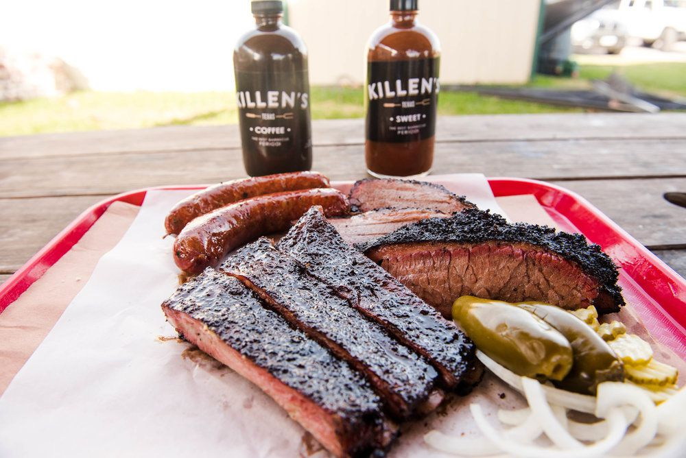Killen's Barbecue Texas Style Ribs, Brisket and Sausage