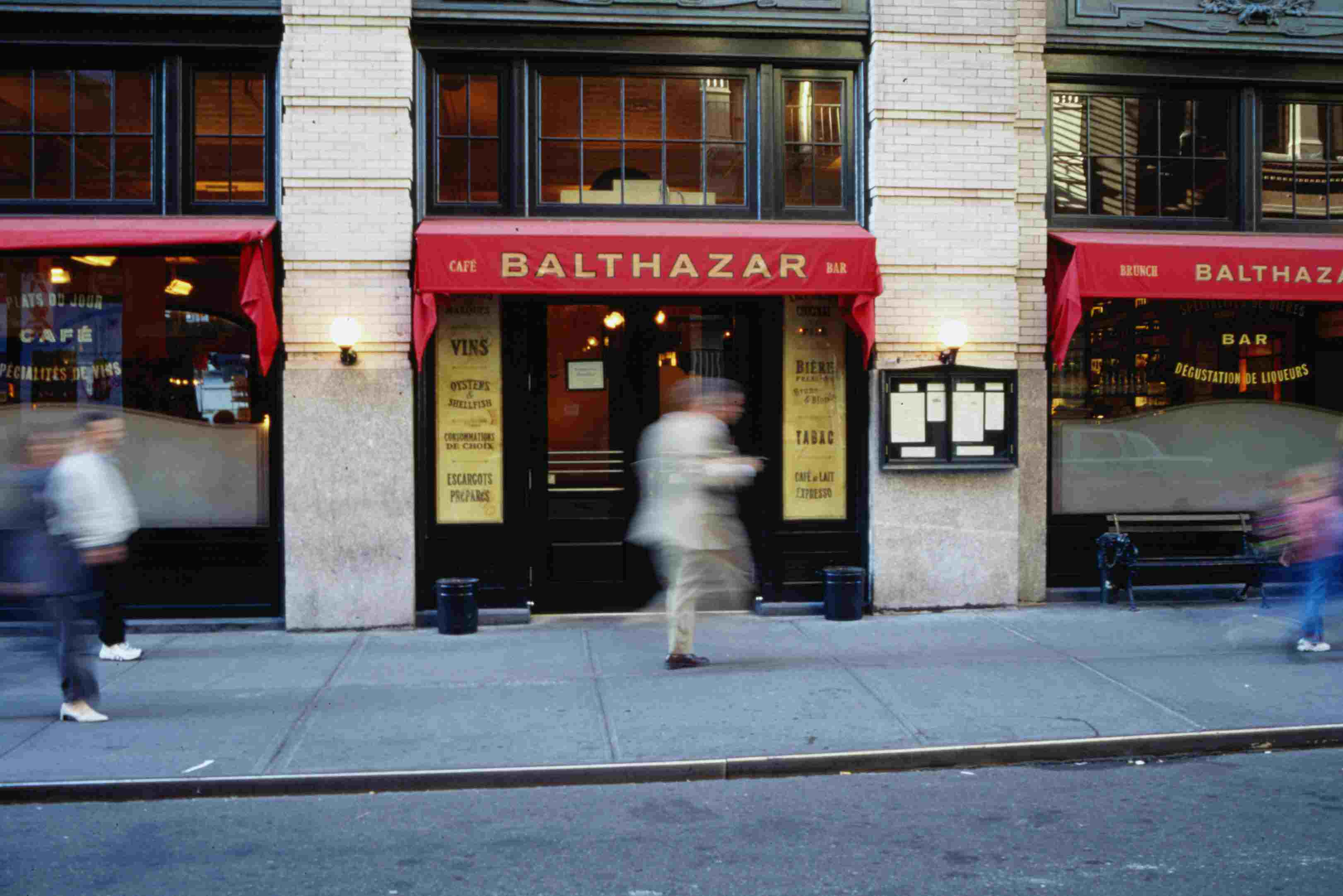 Restaurante Balthazar en Little Italy, Nueva York