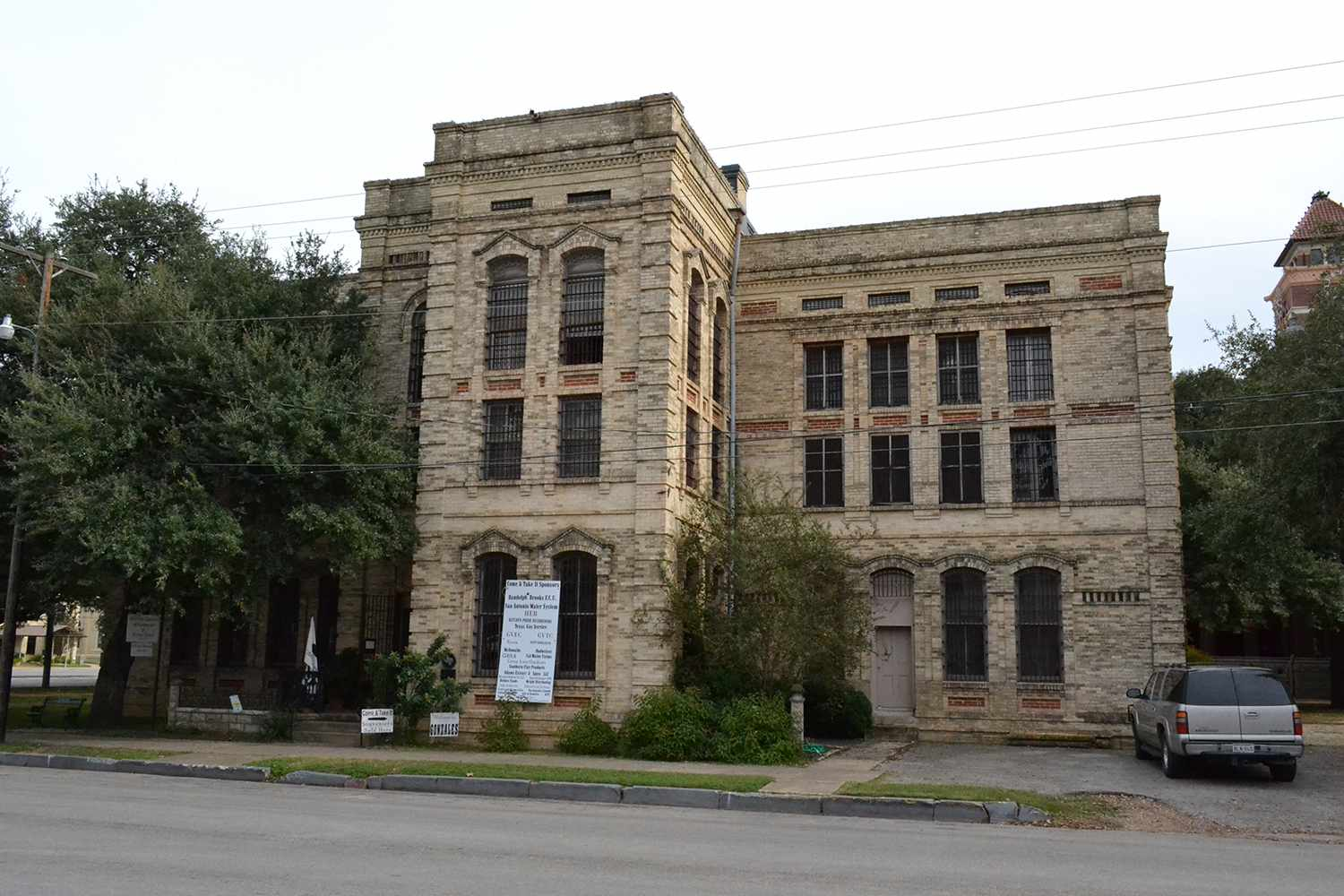 Old Gonzales County Jail, Gonzales, Texas.