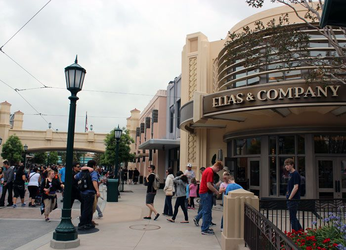 See Elias and Company, one of the shops along Buena Vista Street.