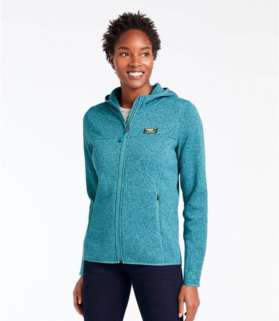 L.L. Bean Sweater Fleece, Full-Zip Hoodie