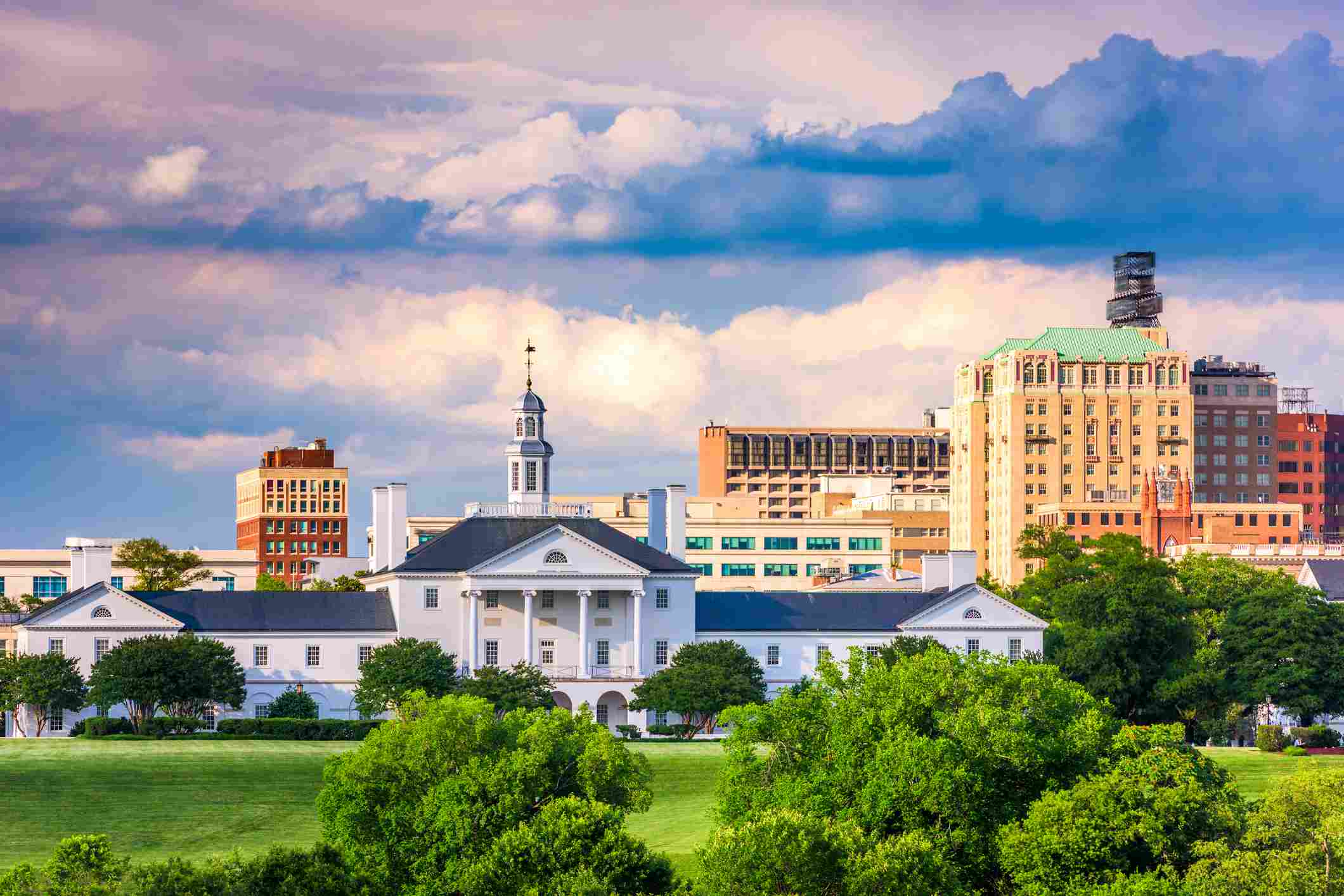 Richmond, Virginia Cityscape