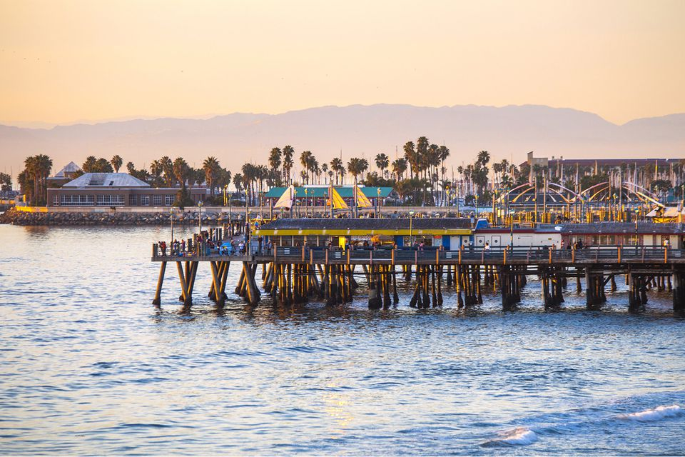Redondo Pier at Sunset
